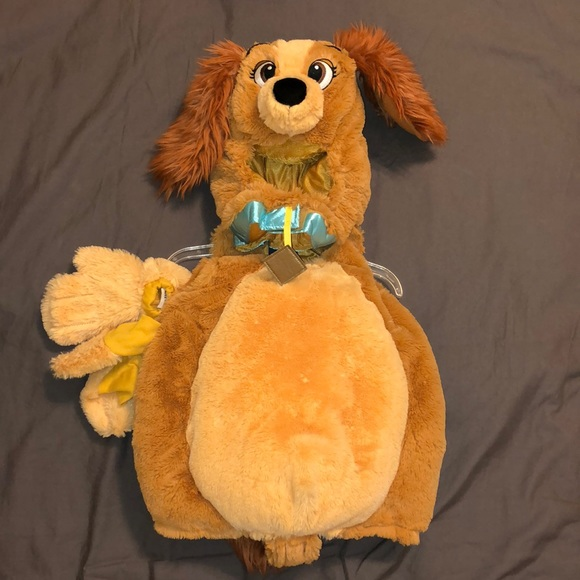 new disney lady the tramp halloween costume 6 12